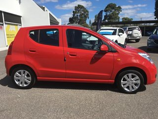 2010 Suzuki Alto GF GLX Red 4 Speed Automatic Hatchback.