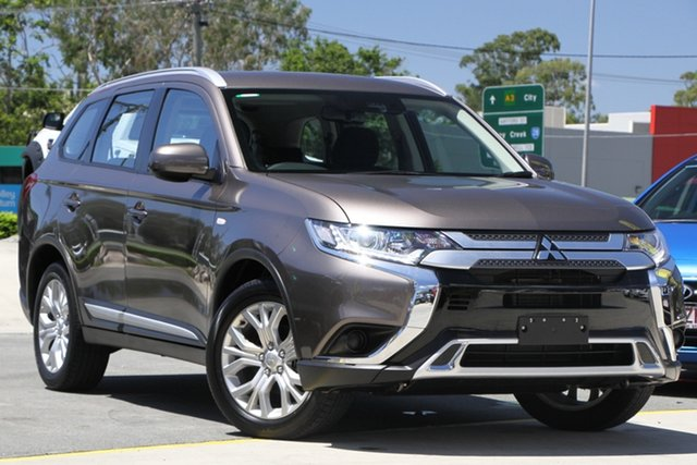 Used Mitsubishi Outlander ZL MY19 ES 2WD Aspley, 2019 Mitsubishi Outlander ZL MY19 ES 2WD Brown 6 Speed Constant Variable Wagon