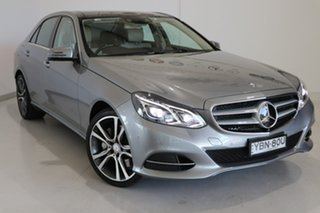 2014 Mercedes-Benz E-Class W212 MY14 E400 7G-Tronic + Silver 7 Speed Sports Automatic Sedan.