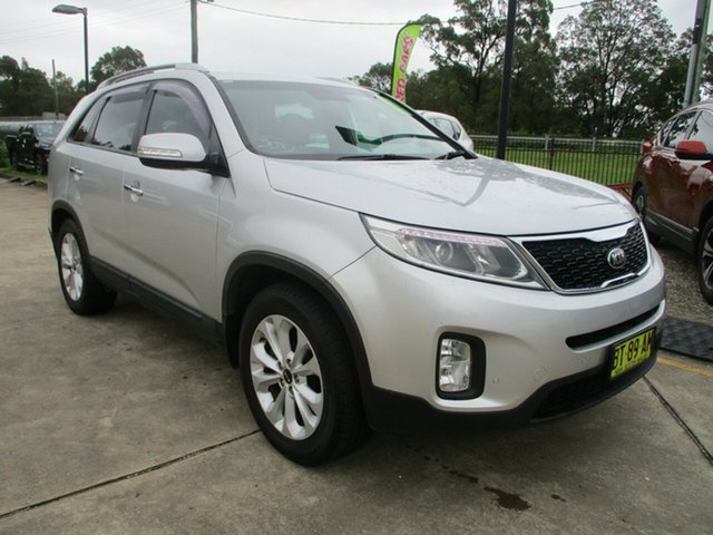 Used Kia Sorento XM MY13 SLi Glendale, 2013 Kia Sorento XM MY13 SLi Silver 6 Speed Sports Automatic Wagon