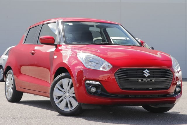 Used Suzuki Swift AZ GL Navigator Windsor, 2019 Suzuki Swift AZ GL Navigator Red 1 Speed Constant Variable Hatchback