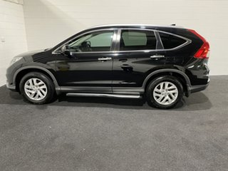 2015 Honda CR-V RM Series II MY16 VTi-S 4WD Crystal Black 5 Speed Sports Automatic Wagon