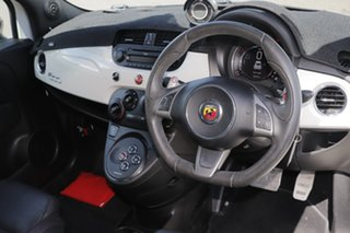 2014 Abarth 595 Series 3 Turismo Dualogic White 5 Speed Sports Automatic Single Clutch Hatchback