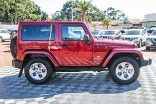 2013 Jeep Wrangler JK MY2013 Overland Red/Black 5 Speed Automatic Hardtop.