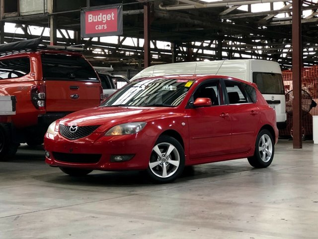 Used Mazda 3 BK10F1 Maxx Sport Mile End South, 2005 Mazda 3 BK10F1 Maxx Sport Red 4 Speed Sports Automatic Hatchback