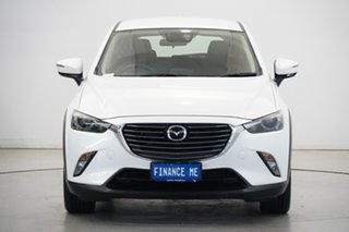 2015 Mazda CX-3 DK4WSA sTouring SKYACTIV-Drive i-ACTIV AWD White 6 Speed Sports Automatic Wagon.