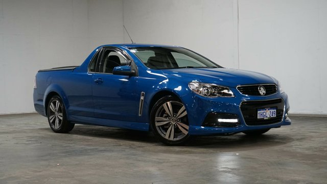 Used Holden Ute VF MY14 SV6 Ute Welshpool, 2014 Holden Ute VF MY14 SV6 Ute Blue 6 Speed Sports Automatic Utility