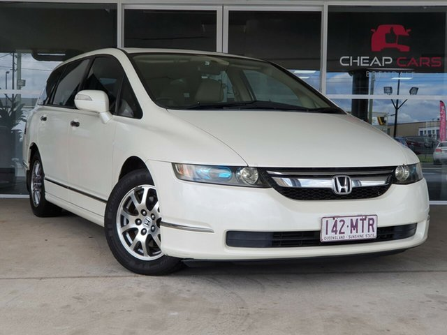 Used Honda Odyssey 3rd Gen MY07 Luxury Brendale, 2007 Honda Odyssey 3rd Gen MY07 Luxury White 5 Speed Sports Automatic Wagon