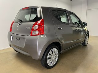 2012 Suzuki Alto GF GL Grey 5 Speed Manual Hatchback.