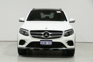 2015 Mercedes-Benz GLC250D 253 White 9 Speed Automatic Wagon.