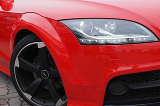 2013 Audi TT 8J MY14 S Tronic Quattro Red 6 Speed Sports Automatic Dual Clutch Coupe.