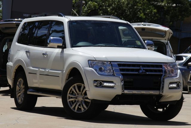 New Mitsubishi Pajero NX MY21 Exceed Toowoomba, 2020 Mitsubishi Pajero NX MY21 Exceed White 5 Speed Sports Automatic Wagon