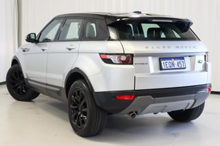 2014 Land Rover Range Rover Evoque L538 MY14 Pure Silver 9 Speed Sports Automatic Wagon.