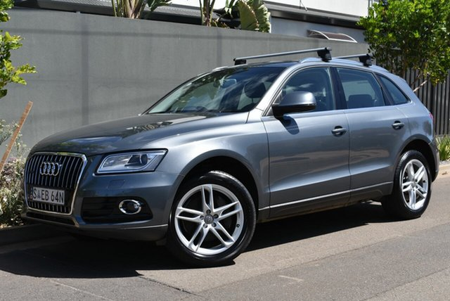 Used Audi Q5 8R MY13 TDI S Tronic Quattro Brighton, 2012 Audi Q5 8R MY13 TDI S Tronic Quattro Grey 7 Speed Sports Automatic Dual Clutch Wagon