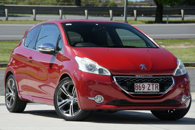 Used Peugeot 208 A9 MY13 GTi North Lakes, 2013 Peugeot 208 A9 MY13 GTi Red 6 Speed Manual Hatchback