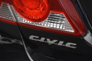 2007 Honda Civic 8th Gen MY07 VTi Black 5 Speed Automatic Sedan
