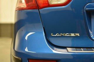 2008 Mitsubishi Lancer CJ MY09 VR-X Sportback Blue 5 Speed Manual Hatchback