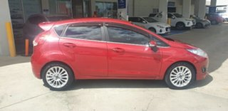 2014 Ford Fiesta WZ Sport PwrShift Red 6 Speed Sports Automatic Dual Clutch Hatchback.