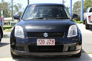 2007 Suzuki Swift RS415 Black 4 Speed Automatic Hatchback.