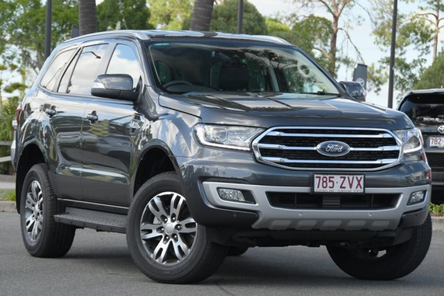 Used Ford Everest UA II 2020.75MY Trend North Lakes, 2020 Ford Everest UA II 2020.75MY Trend Grey 10 Speed Sports Automatic SUV
