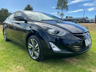 2014 Hyundai Elantra MD3 Premium Black 6 Speed Sports Automatic Sedan.