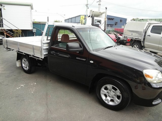 Used Mazda BT-50 08 Upgrade B2500 DX Coopers Plains, 2009 Mazda BT-50 08 Upgrade B2500 DX Black 5 Speed Manual Cab Chassis