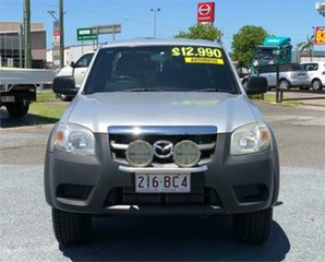 2009 Mazda BT-50 UNY0E4 DX Silver 5 Speed Automatic Utility.