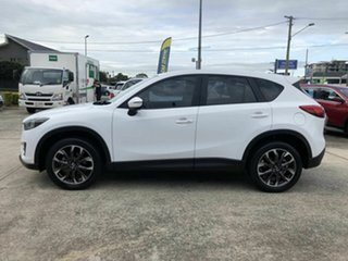 2016 Mazda CX-5 KE1022 Akera SKYACTIV-Drive AWD White 6 Speed Sports Automatic Wagon.
