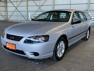 2008 Ford Falcon BF Mk III XT Silver 4 Speed Sports Automatic Wagon.