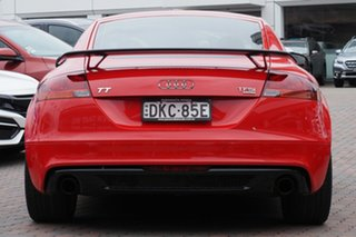 2013 Audi TT 8J MY14 S Tronic Quattro Red 6 Speed Sports Automatic Dual Clutch Coupe