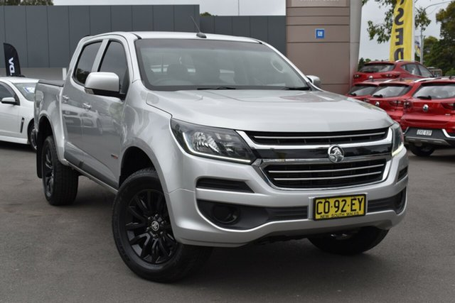 Used Holden Colorado RG MY18 LS Pickup Crew Cab 4x2 Tuggerah, 2018 Holden Colorado RG MY18 LS Pickup Crew Cab 4x2 Silver 6 Speed Sports Automatic Utility