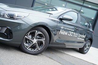 2020 Hyundai i30 PD.V4 MY21 Amazon Gray 6 Speed Manual Hatchback.