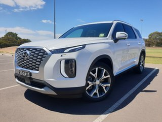 2020 Hyundai Palisade LX2.V1 MY21 Highlander AWD White Cream 8 Speed Sports Automatic Wagon.