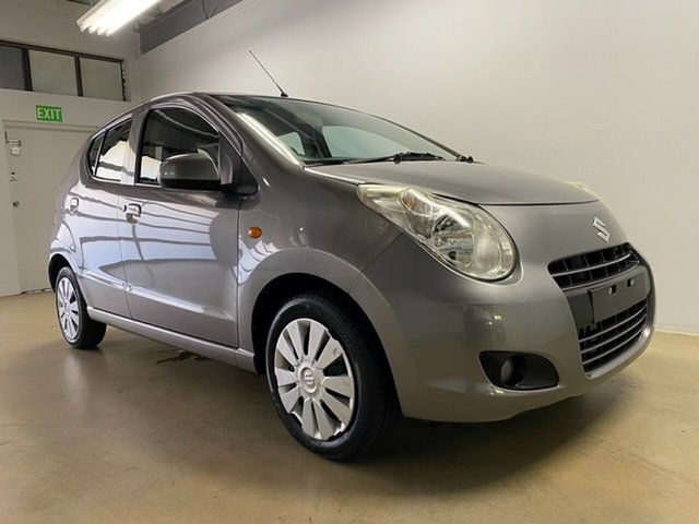 Used Suzuki Alto GF GL Phillip, 2012 Suzuki Alto GF GL Grey 5 Speed Manual Hatchback