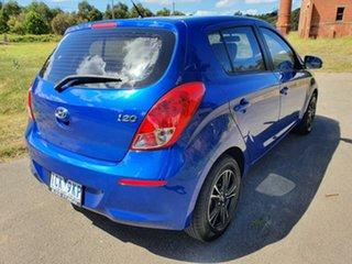 2014 Hyundai i20 PB Active Blue Automatic Hatchback