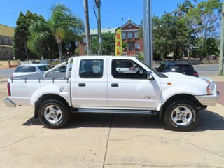 2012 Nissan Navara ST-R White 5 Speed Manual Dual Cab.
