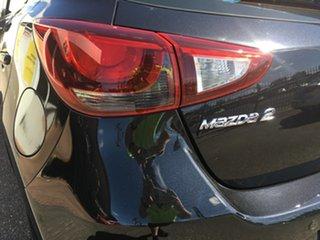 2015 Mazda 2 DJ2HA6 Neo SKYACTIV-MT Black 6 Speed Manual Hatchback