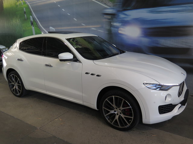 Used Maserati Levante M161 MY17 Luxury Osborne Park, 2017 Maserati Levante M161 MY17 Luxury White 8 Speed Automatic Wagon