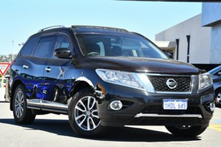 2015 Nissan Pathfinder R52 MY15 ST-L X-tronic 2WD Black 1 Speed Constant Variable Wagon.