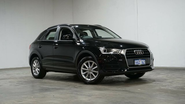 Used Audi Q3 8U MY17 TFSI S Tronic Welshpool, 2017 Audi Q3 8U MY17 TFSI S Tronic Black 6 Speed Sports Automatic Dual Clutch Wagon