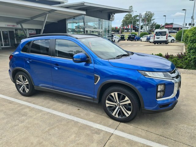 Used Mitsubishi ASX XD MY20 Exceed 2WD Yamanto, 2019 Mitsubishi ASX XD MY20 Exceed 2WD Blue 1 Speed Constant Variable Wagon