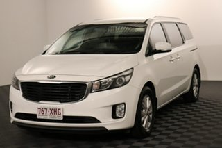 2017 Kia Carnival YP MY18 SI White 6 speed Automatic Wagon