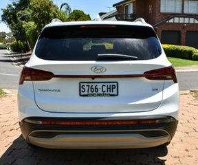 2020 Hyundai Santa Fe Tm.v3 MY21 Active White Cream 8 Speed Sports Automatic Wagon