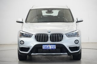2016 BMW X1 F48 sDrive20i Steptronic Silver 8 Speed Sports Automatic Wagon.