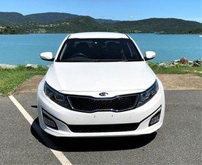 2014 Kia Optima TF MY14 SI White 6 Speed Automatic Sedan.