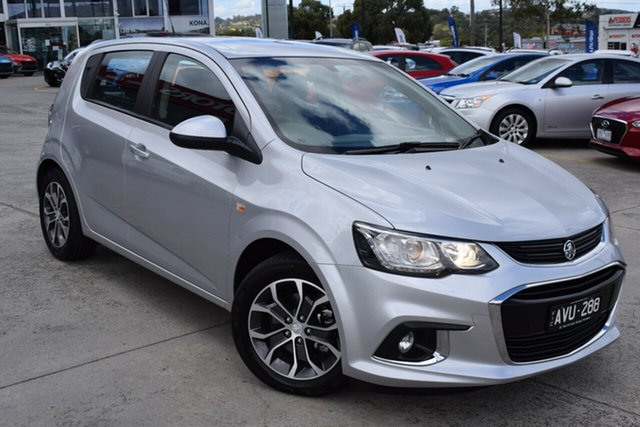 Used Holden Barina TM MY18 LS Ferntree Gully, 2018 Holden Barina TM MY18 LS Silver 6 Speed Automatic Hatchback