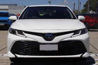 2019 Toyota Camry AXVH71R Ascent Glacier White 6 Speed Constant Variable Sedan Hybrid