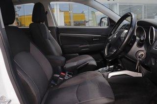 2010 Mitsubishi ASX XA MY11 2WD White 6 Speed Constant Variable Wagon