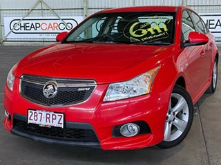2011 Holden Cruze JH Series II MY11 SRi Red 6 Speed Manual Sedan.