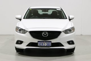 2013 Mazda 6 6C Sport White 6 Speed Automatic Sedan.